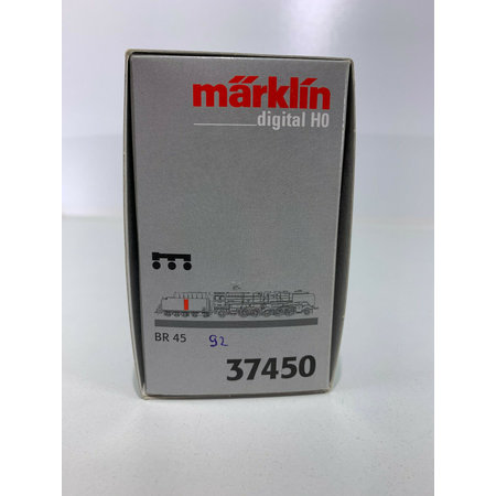 Märklin 37450 digital/Sound Schlepptenderlok BR 45 / DB in OVP (ST92) gebraucht