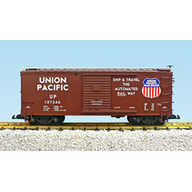 Steel Box Car Union Pacific #107348
