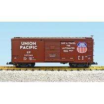 Steel Box Car Union Pacific #107349