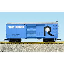 Steel Box Car Rock Island #57628
