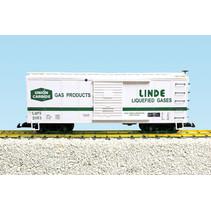 Steel Box Car Union Carbide/Linde Gases #2053
