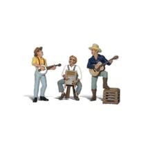 Spur G drei Musiker