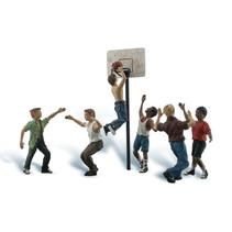 Spur 0 Basketballspieler
