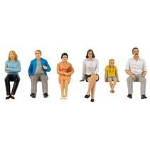 sitzende Gruppe