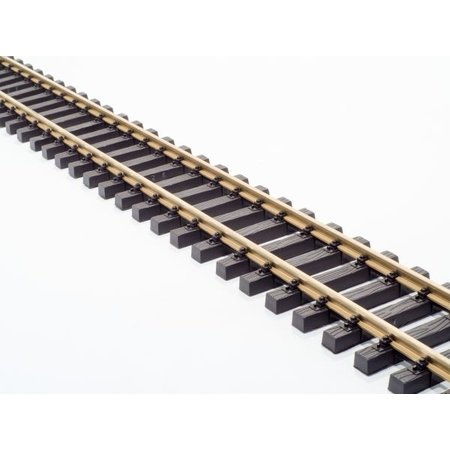 Train Line 10 x 150cm Flex Gleis (ein ganzes Paket) mit Schraubverbindern