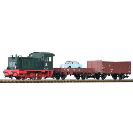 PIKO G Start-Set Güterzug V20 (inkl. Sound)