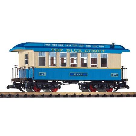 PIKO G Personenwagen CNJ Blue Comet 1174 Faye