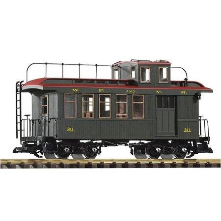 PIKO G Güterzugbegleitwagen WP&YR
