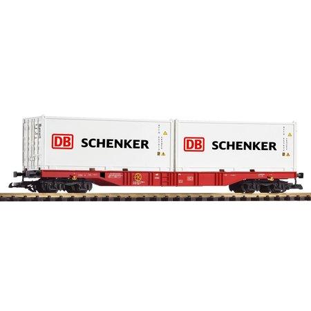 PIKO G Containertragwagen DB AG VI mit 2 Containern