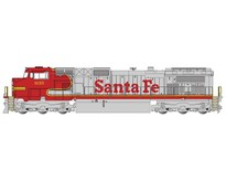 GE Dash 9 Santa Fe Warbonnet  #635