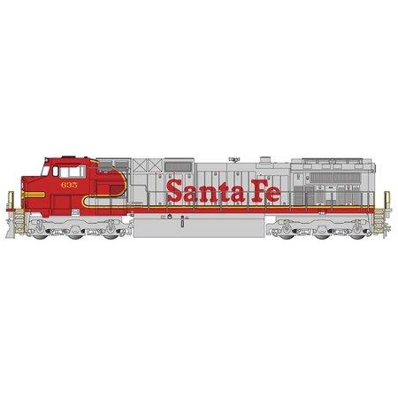 Bachmann Trains GE Dash 9 Santa Fe Warbonnet  #635
