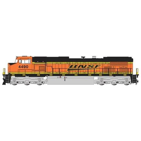 "Bachmann Trains GE BNSF ""Swoosh"" Dash-9 #4490"