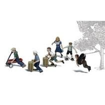 Spur H0 Spielende Kinder II