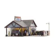 Spur H0 Ethyl's Gas & Service (Fertigmodell)