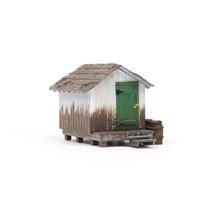Spur H0 Wood Shack (Fertigmodell)
