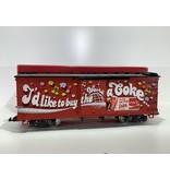 LGB Coca Cola Boxcar  mit Sound (sehr guter Zustand)