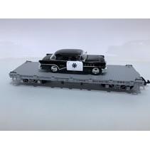 Flatcar Uintah beladen mit Polizei Fahrzeug (sehr guter Zustand)