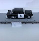 LGB Flatcar Uintah beladen mit Polizei Fahrzeug (sehr guter Zustand)