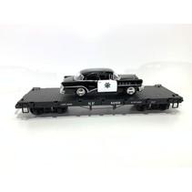 Flatcar SP beladen mit Polizei Fahrzeug (sehr guter Zustand)