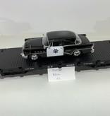 LGB Flatcar SP beladen mit Polizei Fahrzeug (sehr guter Zustand)