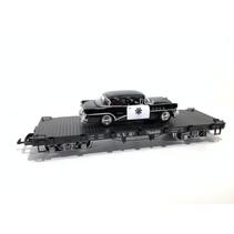 Flatcar SVR beladen mit Polizei Fahrzeug (sehr guter Zustand)