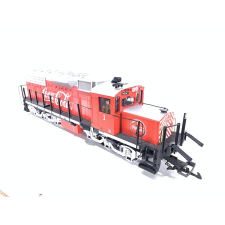 LGB Coca Cola Sonderlok Alco Diesellok DCC & Sound