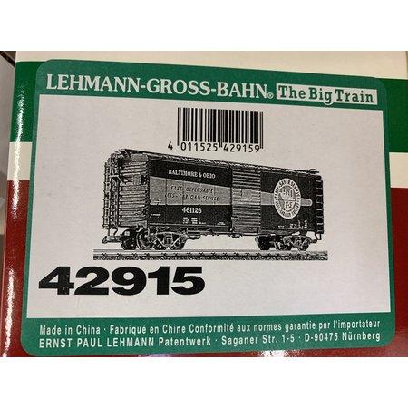 LGB 40 Fuss Boxcar Baltimore & Ohio (sehr guter Zustand)