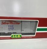 LGB 40 Fuss Boxcar Silver Meteor