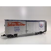 40 Fuss Boxcar Silver Meteor