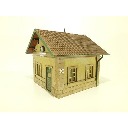 Eigenbau Bahnhofsgebäude Spur G (gebraucht)