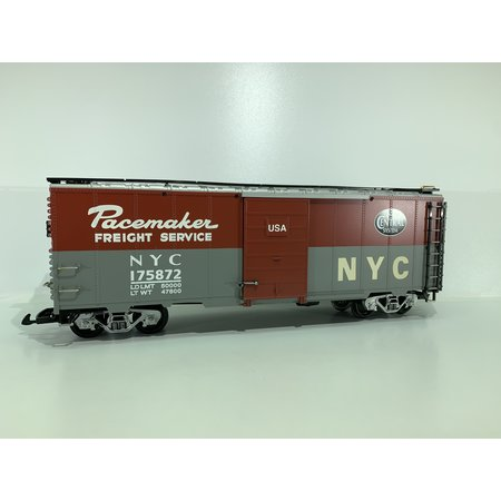 """LGB 40 Fuss Boxcar New York Central """"Pacemaker"""""""