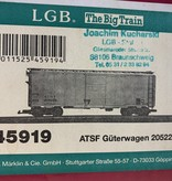 LGB 40 Fuss Boxcar ATSF (sehr guter Zustand)