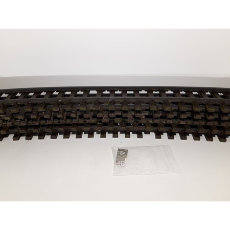 LGB 5x 110cm gebogenes Gleis (Messing) Spur G passend zu LGB inkl. Schraubschienenverbinder (gebraucht)