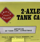 Aristo Craft 20 Fuss Christmas Tankwagen (wie neu)