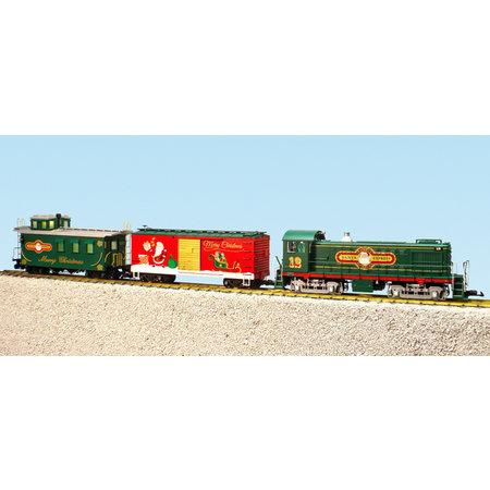 USA TRAINS Christmas S4 Diesel Startset