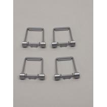 Spur G Stirrup for Sideframes-Anbauteile für Drehgestellblenden in silber