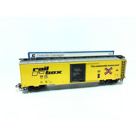 Märklin Gedeckter Güterwagen Railbox sehr guter Zustand