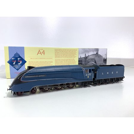 Hornby Hornby Class A4 Locomotive 4491 Commonwealth of Australia DCC Top Zustand