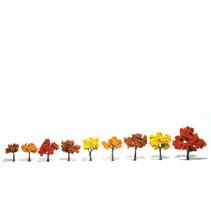Baum (Fertigmodell) - Herbstmischung 9er Pack