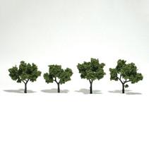 Baum (Fertigmodell) - Hellgrün 4er Pack
