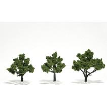 Baum (Fertigmodell) - Hellgrün 3er Pack  (klein)