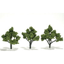 Baum (Fertigmodell) - Hellgrün 3er Pack  (groß)