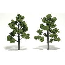 Baum (Fertigmodell) - Hellgrün 2er Pack  (klein)