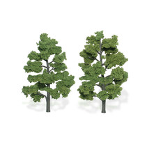 Baum (Fertigmodell) - Hellgrün 2er Pack  (groß)