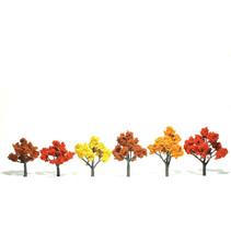 Baum (Fertigmodell) - Herbstmischung 6er Pack