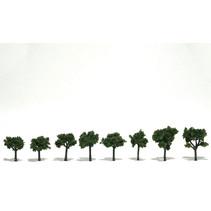 Baum (Fertigmodell) - Mittelgrün 8er Pack