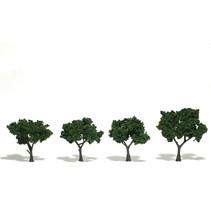 Baum (Fertigmodell) - Mittelgrün 4er Pack