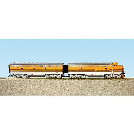 USA TRAINS F7 AB Rio Grande (2 komplette Loks)