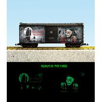 Neuheit 2021 Glow In The Dark Creepy Halloween Box Car