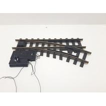 Elektrische Weiche rechts, R1, 30° digital mit Weichenlaterne (gebraucht)